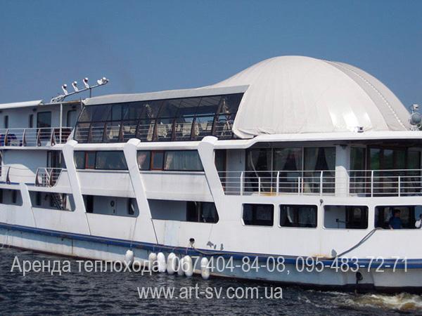 Теплоход Святой Андрей лайнер de Luxe Киев цена