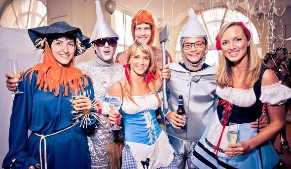 организация тематических вечеринок