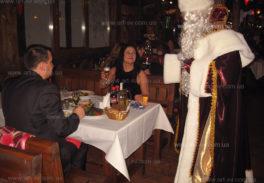 дед мороз в ресторан на новый год