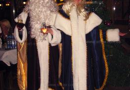дед мороз и снегурочка в новогоднюю ночь