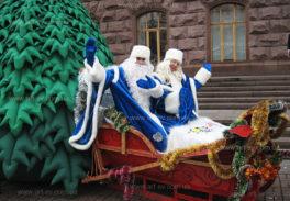 Дед Мороз и СНегурочка на Новый год Киев