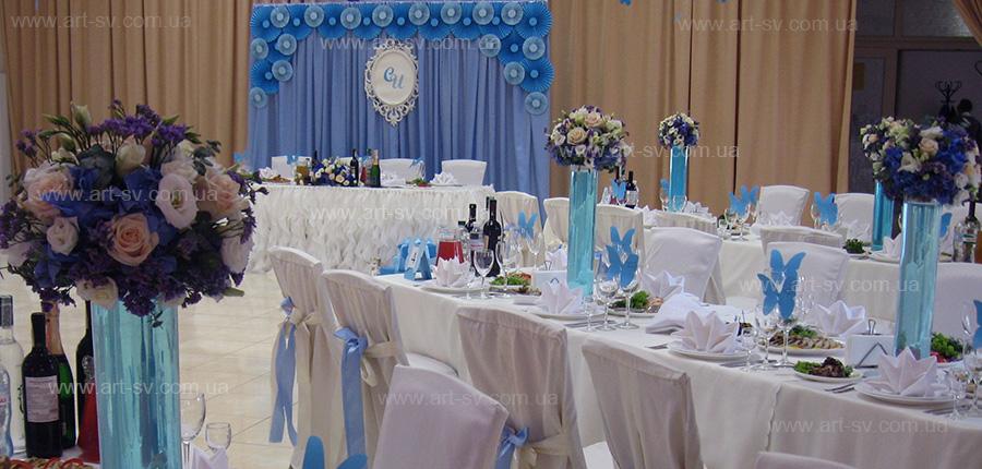 комплексный декор свадеб киев