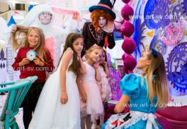 День рождения Алиса в стране Чудес