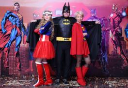 Новогодний корпоратив вечеринка Супергерои