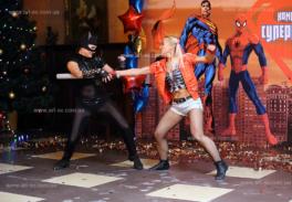 Супергерои вечеринка